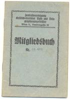 MITGLIEDSBUCH YEAR 1937 WIEN POST UND TELEGRAPHEN - Historische Documenten