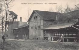 10 - AUBE - CHAMOY - 10074 - Usine à Chaux Quai D'embarquement - Autres Communes