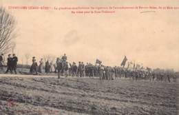 10 - AUBE - BAR SUR SEINE - 10075 - Convoi Des Vignerons 19 Mars 1911 - Bar-sur-Seine
