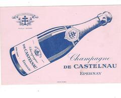 BUVARD  CHAMPAGNE  DE CASTELNAU  EPERNAY   *****       A SAISIR   ****** - C
