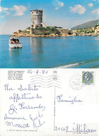 Costa D'Argento. Isola Del Giglio. Torre Del Campese. Viaggiata 1980 - Altre Città