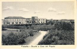 ITALIA -  FOSSALTA (ferrara) - Leggi Testo, Animata, Anni 20 For. Piccolo - 2020-B-203 - Autres Villes