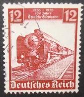 N°918E BRIEFMARKE DEUTSCHES REICH GESTEMPELT - Deutschland