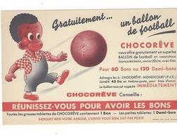 BUVARD  CHOCOLAT  CHOCOREVE   *****       A SAISIR   ****** - Cacao