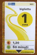 Italia Ticket Bus Tram Servizi Rimini Emilia Romagna - Usato 2011 - Europa