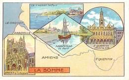 CHROMOS - LIBRAIRIE HACHETTE - DEPARTEMENT - LA SOMME - Vecchi Documenti