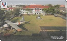 Thailand BTS Card Old Airline Flugzeug Navai Museum - Airplanes