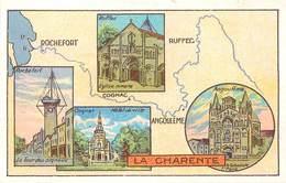 CHROMOS - LIBRAIRIE HACHETTE - DEPARTEMENT - LA CHARENTE - Vecchi Documenti