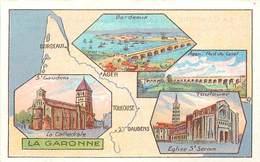 CHROMOS - LIBRAIRIE HACHETTE - DEPARTEMENT - LA GARONNE - Vecchi Documenti