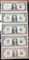 Usa 1 $ Dollar Dollaro 1957 Bollino Blu Bb/spl + 2006 + 2003 + 2003 A + 1995q.fds  LOTTO 1151 - Small Size - Petite Taille (1928-...)