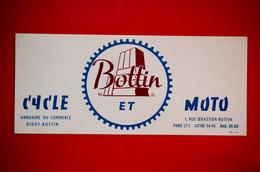 Buvard BOTTIN CYCLE Et MOTO - Macchina