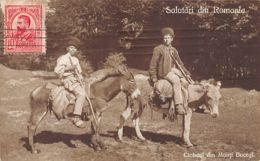 Romania - Ciobani Din Munti Bucegi - Shepherds From Bucegi Mountains - Ed. Necunoscut - Roumanie