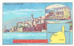 CHROMOS - LIBRAIRIE HACHETTE - DEPARTEMENT - ILE NORD DE LA CORSE - Vecchi Documenti