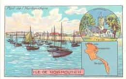 CHROMOS - LIBRAIRIE HACHETTE - DEPARTEMENT - ILE DE NOIRMOUTIER - Vecchi Documenti