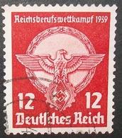 N°925E BRIEFMARKE DEUTSCHES REICH GESTEMPELT - Deutschland