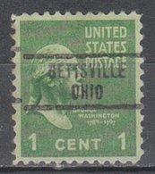 USA Precancel Vorausentwertung Preo, Locals Ohio, Bettsville 734 - Vereinigte Staaten