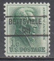 USA Precancel Vorausentwertung Preo, Locals Ohio, Bettsville 841 - Vereinigte Staaten
