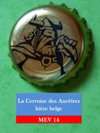 La Cervoise Des Ancêtres (parfait état - Pas De Trace De Décapsuleur) MEV14 - Bier