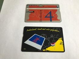 5:304 -  Netherlands Private Card On 4 Gulden - Niederlande