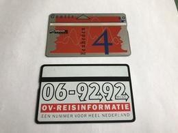 5:305 -  Netherlands Private Card On 4 Gulden - Niederlande