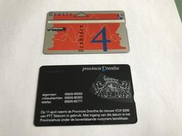 5:309 -  Netherlands Private Card On 4 Gulden - Niederlande