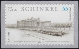 2552 Schinkel Sk, UNGERADE Nummer, Postfrisch ** - [7] Federal Republic