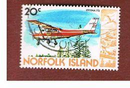 NORFOLK - SG 242  - 1980 AIRPLANES: CESSNA 172   - USED° - Norfolk Island