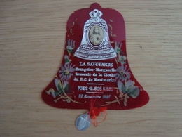 IMAGE RELIGIEUSE LA SAVOYARDE FRANCOISE MARGUERITE CLOCHE DE MONTMARTRE 1895 - Devotion Images