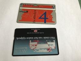 5:318 -  Netherlands Private Card On 4 Gulden - Niederlande