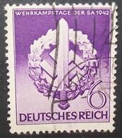 N°981E BRIEFMARKE DEUTSCHES REICH GESTEMPELT - Deutschland