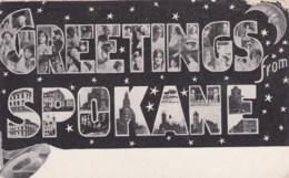 GREETINGS FROM SPOKANE - Spokane