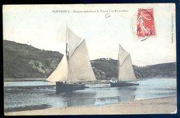 Cpa Du 22  Pontrieux Barques Remontant Le Trieux à Frynaudour   AVR20-160 - Pontrieux