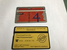 5:328 -  Netherlands Private Card On 4 Gulden - Niederlande