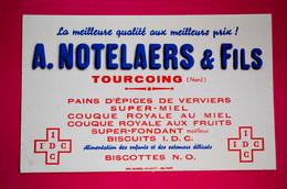 Buvard Pains D'Épices De Verviers, Miel, Biscottes, NOTELAERS & FILS à Tourcoing - Pan De Especias