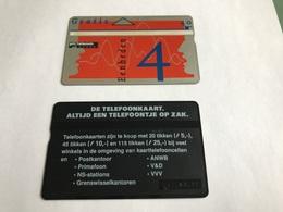 5:329 -  Netherlands Private Card On 4 Gulden - Niederlande