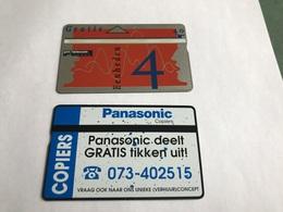 5:331 -  Netherlands Private Card On 4 Gulden - Niederlande