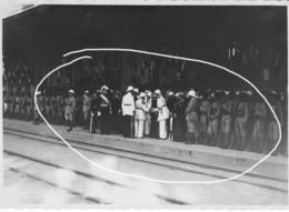 Restes Mortels Reine Ranavalona III Madagascar 1938  Arrivée Gare Officiels  (3) - Lieux