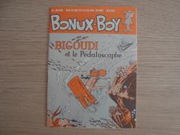 DOCUMENT PUBLICITAIRE BONUX-BOY BIGOUDI ET LE PEDALOSCAPHE  2CV CITROËN - Advertising