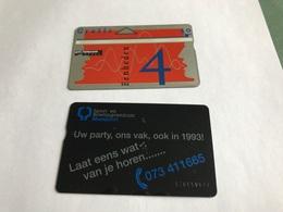 5:337 -  Netherlands Private Card On 4 Gulden - Niederlande