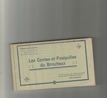 Album De 24 Cartes-jules Watteeuw-les Contes Du Broutteux-superbe Et Rare - Lille