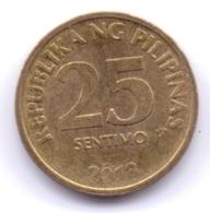 PHILIPPINES 2013: 25 Sentimo, KM 271a - Philippinen