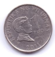PHILIPPINES 2011: 1 Piso, KM 269a - Philippinen