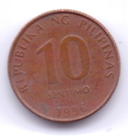 PHILIPPINES 1996: 10 Sentimo, KM 270 - Philippines