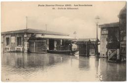 CPA 75 - PARIS 1910 - Les Inondations. 50. Porte De Billancourt - Paris Flood, 1910