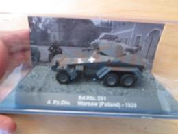 CARTONCAV / Modèle Réduit 1/72e Char  Allemand 39/45 SDKFZ 251 1939 , état Comme Neuf - Panzer