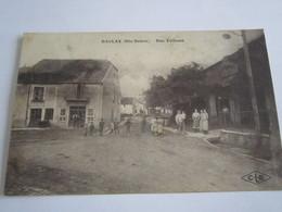 BAULAY Rue Talfosse   Recto Verso_____ 20 Meni  L - Autres Communes