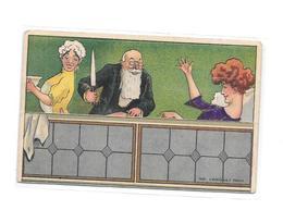 11579 - CPA Fantaisie à Système, Humoristique, Carte Qui S'ouvre, - A Systèmes