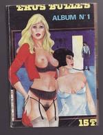 EROS BULLES ALBUM N°1 Relié N°1 Et 2 - Erotic (Adult)