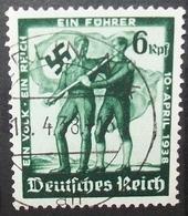 N°1040E BRIEFMARKE DEUTSCHES REICH GESTEMPELT - Deutschland
