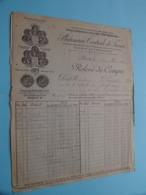 PHARMACIE CENTRALE De FRANCE ( Paris ) ( Fact. ) Anno 1907 ( Zie/voir Photo) ! - Andere